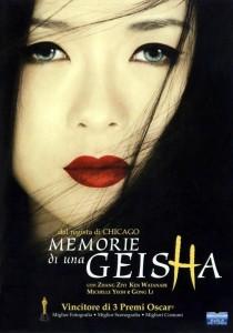 Memorie di una geisha - Locandina